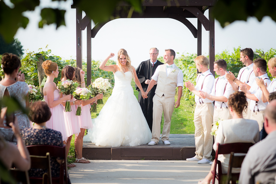 Buffalo vineyard wedding