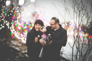 Winter family portrait photography session by the best wedding and portrait photographer in Buffalo, NY and WNY, Jessica Ahrens Photography.