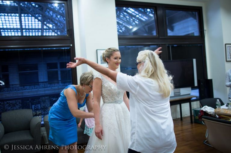 Ellicott Square & Pearl Street Wedding Photography - Buffalo, NY